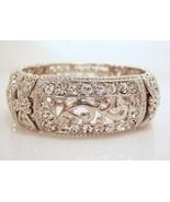 Elegant rhinestone stretch bracelet - $20.00
