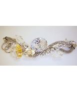 Three strand toggle crystal bracelet - $20.00
