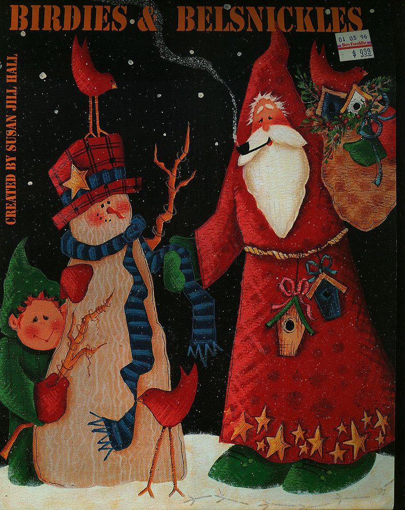 Free Christmas Tole Painting Patterns http://www.bonanza.com/listings/Birdies-Belsnickles-Tole-Painting-Pattern-Book-Christmas/12929718