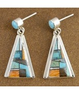 Inlaid Turquoise and Mixed Stones Santa Fe Ster... - $215.87