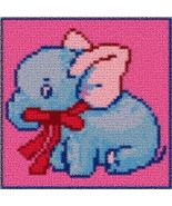 Latch Hook Rug Pattern Chart: BABY ELEPHANT - E... - $5.50