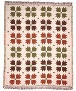 50x60 BEAR Paw Lodge Tapestry Afghan Throw Blanket - $42.50