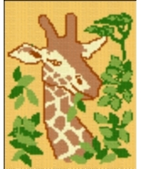 Latch Hook Rug Pattern Chart: GIRAFFE - EMAIL2u - $5.75