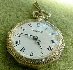 Sheffield Swiss Made Vintage Ladies Pocket Watch # 24937