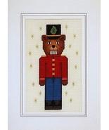 Nutracker Teddy christmas holiday cross stitch ... - $5.40