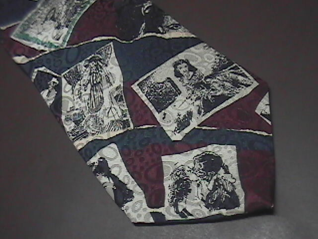 American Movie Classics Neck Tie AMC Gone With The Wind Photographs from Movie