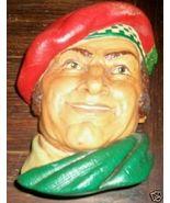 Bossons Congleton England Vintage Chalkware Head - $12.00