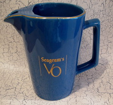 Seagrams VO Whisky Whiskey Pitcher Canada Souvenir - $14.99