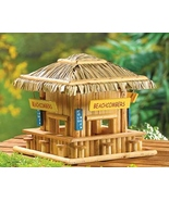 Bird House Beachcombing birdies wood snack shack  - $10.49