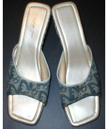 Authentic Christian Dior Slides Wedge Shoes Wom... - $139.99