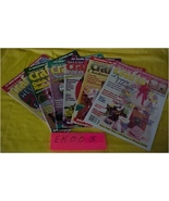 Magazines, Quick & Easy Crafts, 6 Back Issues 1995 - $5.00