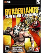 BORDERLANDS - GAME OF THE YEAR EDITION PC-DVD WIN XP / VISTA / 7