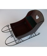 Victorian Style Sleigh for Table Decor, Doll/St... - $11.00