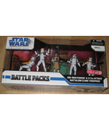 * Star Wars Clone Wars Obi-Wan & 212th Attack B... - $60.00