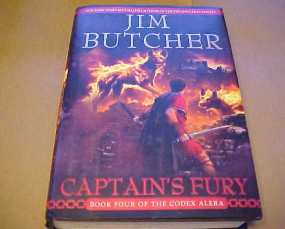 Captains Fury Jim Butcher Codex Alera Vol 4 HCDJ
