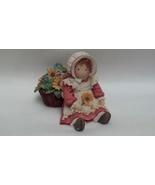 Enesco Down Petticoat Lane Resin Figurine Baby ... - $18.95