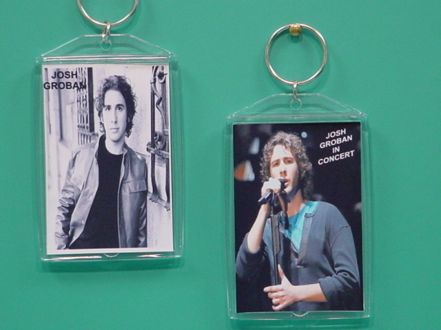 Josh Groban 2 Photo Designer Collectible Keychain