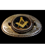 Vintage Masonic Made in USA Belt Buckle - $5.99