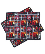 Firefighter Placemats pair, set firehouse firem... - $24.00