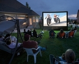 Buy Home Theater Systems   - Open Air Cinema Outdoor Home Projector Screen 12x7