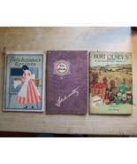 3 Vintage Illustrated Softcover Cookbooks  - $12.00