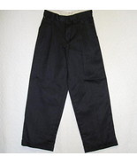Van Heusen Black Dress Pants Patterned Cuffed B... - $5.69
