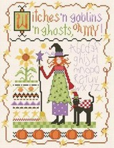 Witches And Goblins Oh My cross stitch chart Al... - $7.00