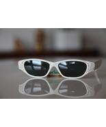 Polaroid Vintage Cat Eye Sunglasses White/ Rhin... - $36.00