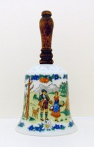 Decorative Collectible Porcelain Bell by Walkur... - $4.00