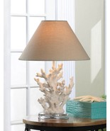 White Coral Table Lamp - $42.00