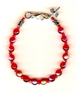 Anorexia Support Bracelet - Ana CLASSIC .925 Dr... - $34.99