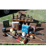 Lot Antique Smoking Pipes & Tobacco Tins - $320.00