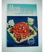 1949 Sears Roebuck Co. Coldspot Freezers Instru... - $2.75