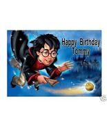 Harry Potter Pesonalized Edible Cake Topper - $7.99