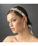 Vintage Inspired Diamante Rhinestone Ivory Rib... - $74.99
