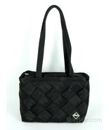 Seatbelt Purse Tote Maggie Bags Seat Belt Medium Black Checkered Travel Gift New