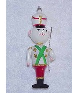 Vintage Glass Christmas Ornament Bear Marching ... - $45.00