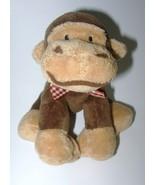 Chosun Monkey Plush Stuffed Animal Brown Red Gi... - $9.97