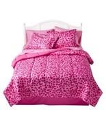 Xhilaration Pink Leopard Hearts 6 Piece Twin/Si... - $65.00