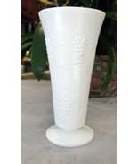 Vintage Fenton Milk Glass Flower Vase - $11.88
