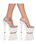 Pleaser Womens SZ 11 Stiletto Shoes Pole Dancer... - $36.00