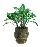 Everlasting Artificial Green Plant in A Rustic ... - $8.55