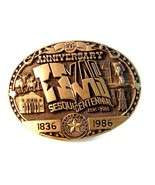 Official Texas Sesquicentennial Belt Buckle Lim... - $54.99