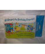 Boy Birthday 8 Train Invitations and Envelopes New - $2.95