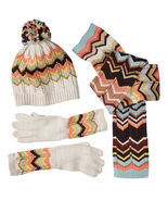 XS/S Missoni Target Scarf/Beanie Hat/Gloves Set... - $84.95