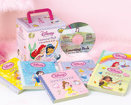 Image 0 of Princess 6-Book Learning & CD Carry Case Set