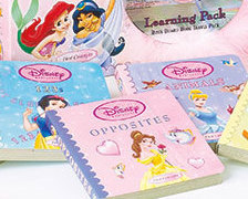 Image 1 of Princess 6-Book Learning & CD Carry Case Set