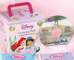 Image 3 of Princess 6-Book Learning & CD Carry Case Set