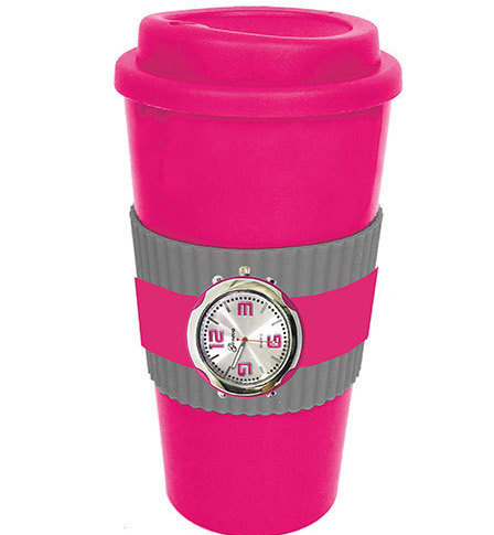 Pink Mug & Watch Gift Sets New Has Both