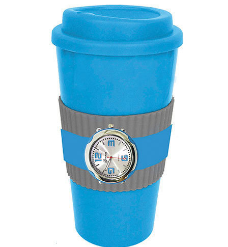 Blue Mug & Watch Gift Sets New Has Both